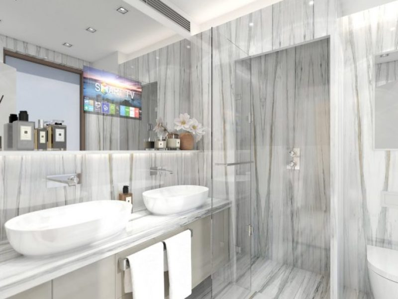 Render da Casa de Banho do Duplex